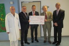 Spendenübergabe der Sparkasse Westerwald-Sieg